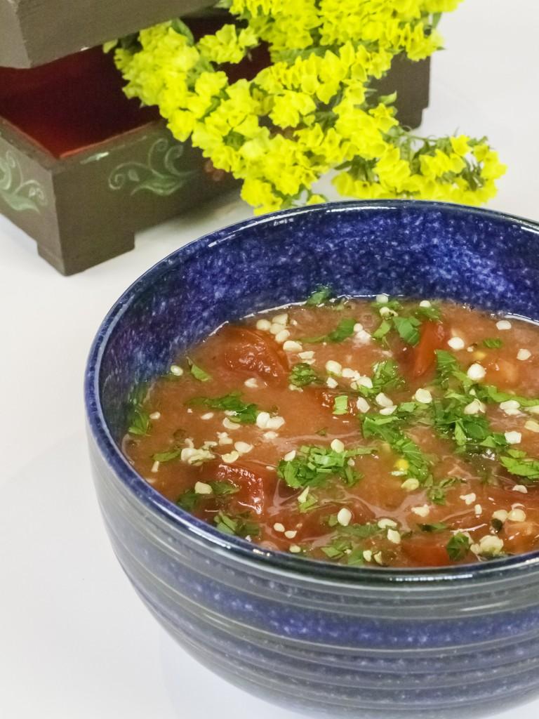 Raw Tomato Soup
