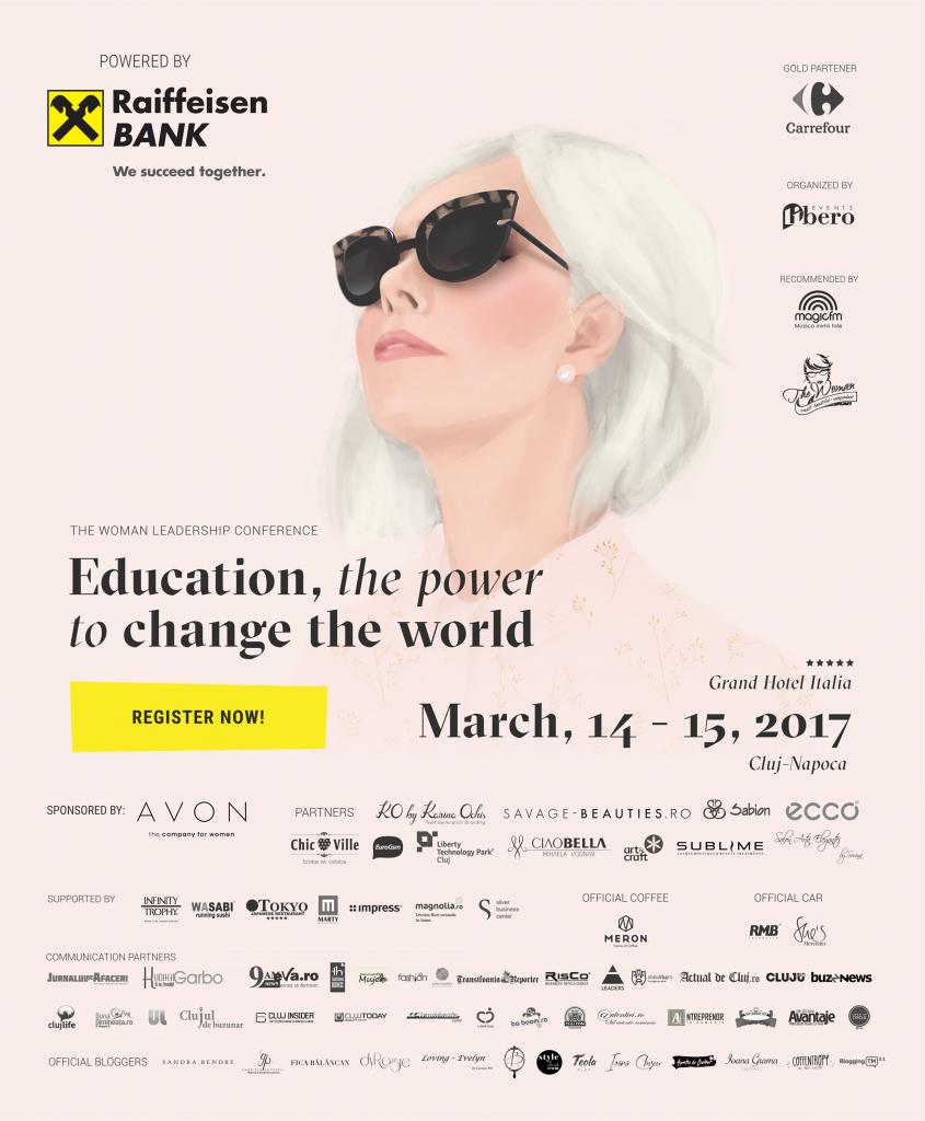 Afis Conferinta The Woman 2017