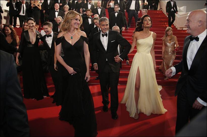 France Cannes Money Monster Red departures