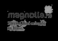 magnolia - greyscale