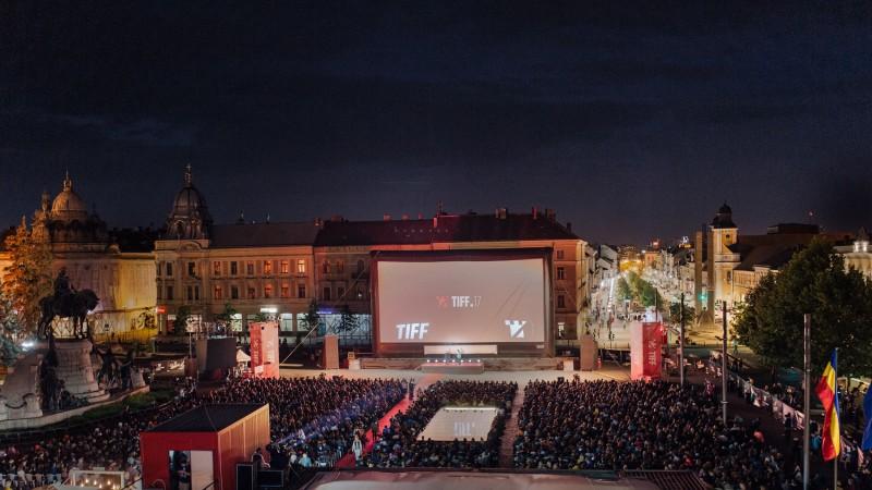Piata Unirii la deschiderea TIFF 2018 - foto Chris Nemes