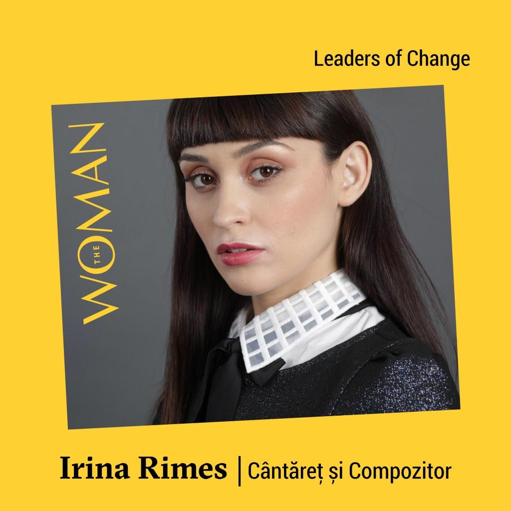 Irina Rimes - speaker