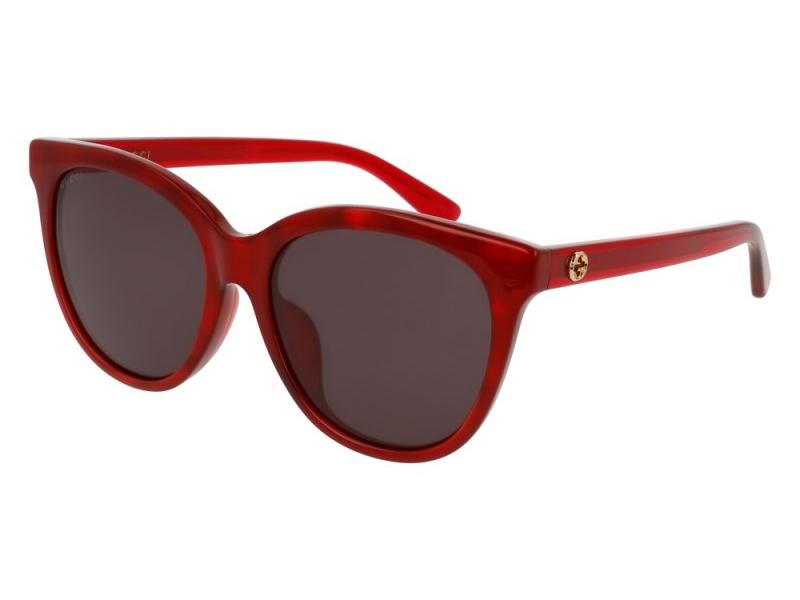 03 ochelari de soare cu rame rosii gucci