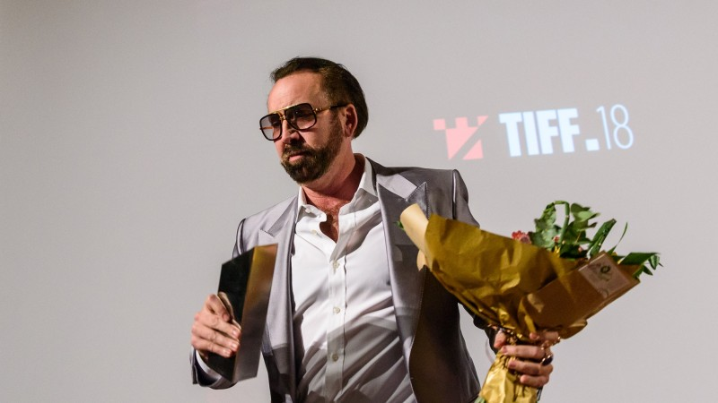 Nicolas Cage, premiat la TIFF 2019 - Foto Nicu Cherciu