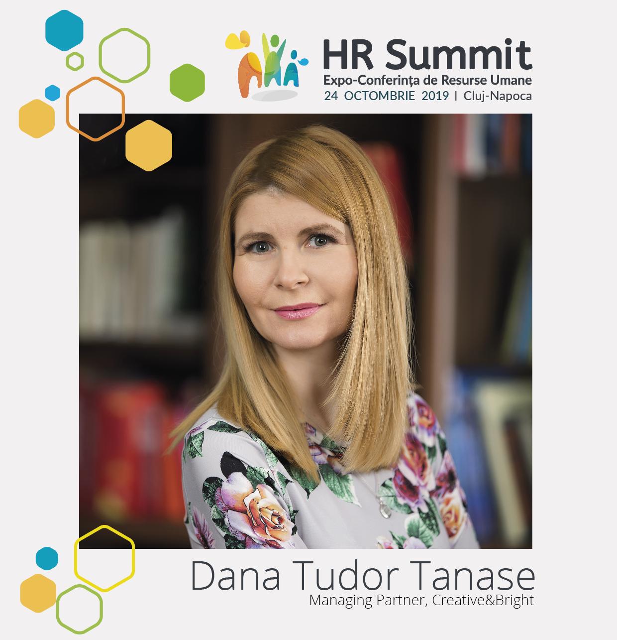 Dana Tudor Tanase - Speaker HR Summit