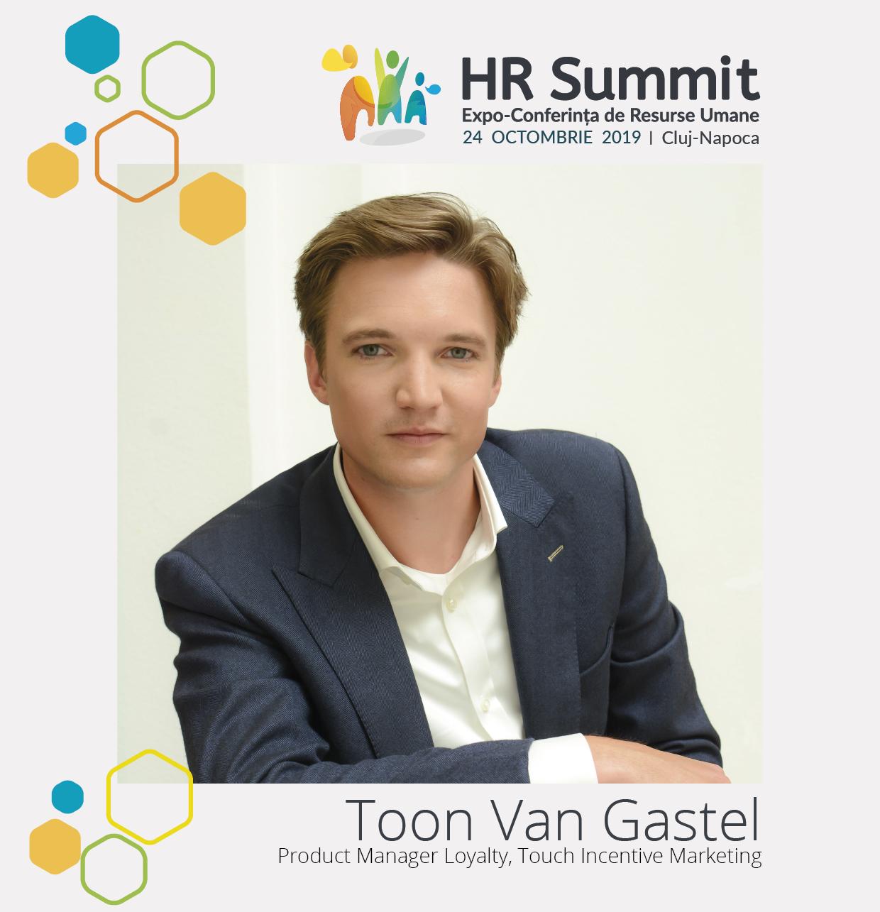 Toon Van Gastel - Speakeri HR Summit