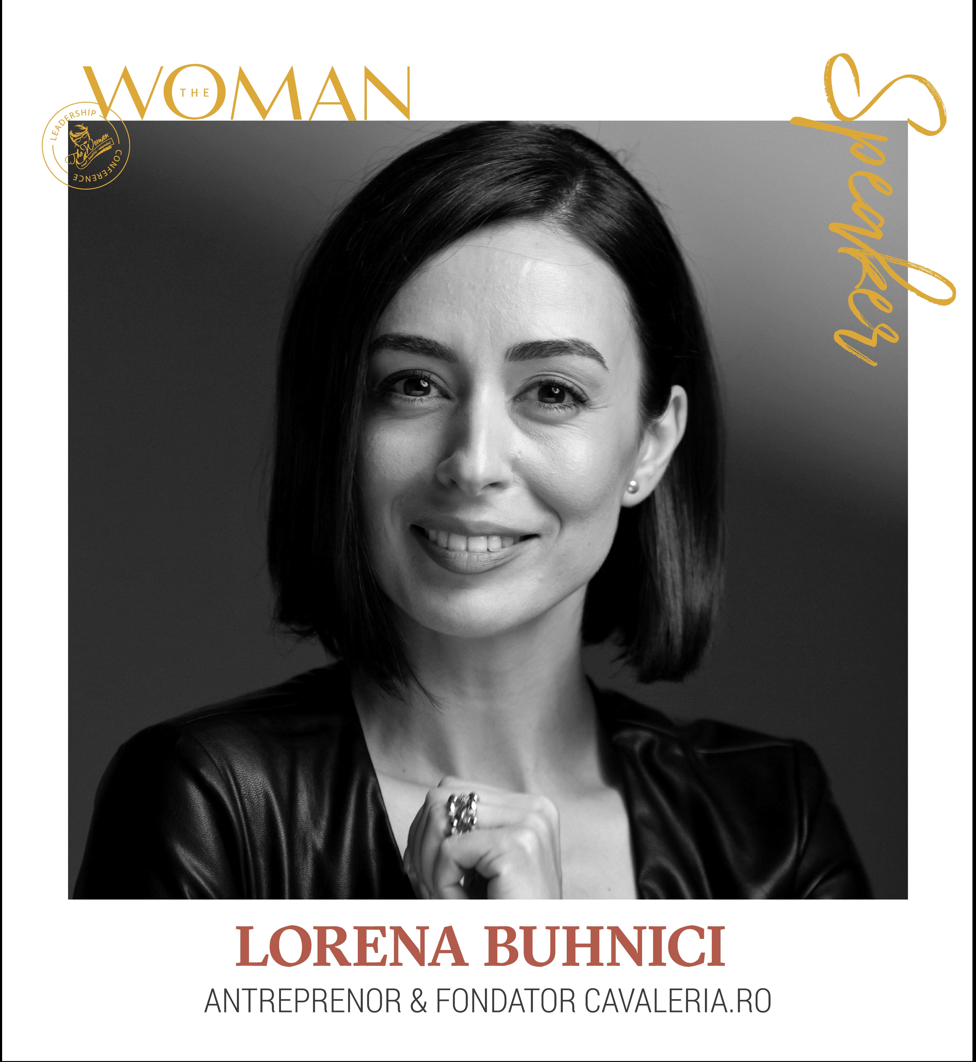 Lorena Buhnici - Speaker The Woman Leadership Conference