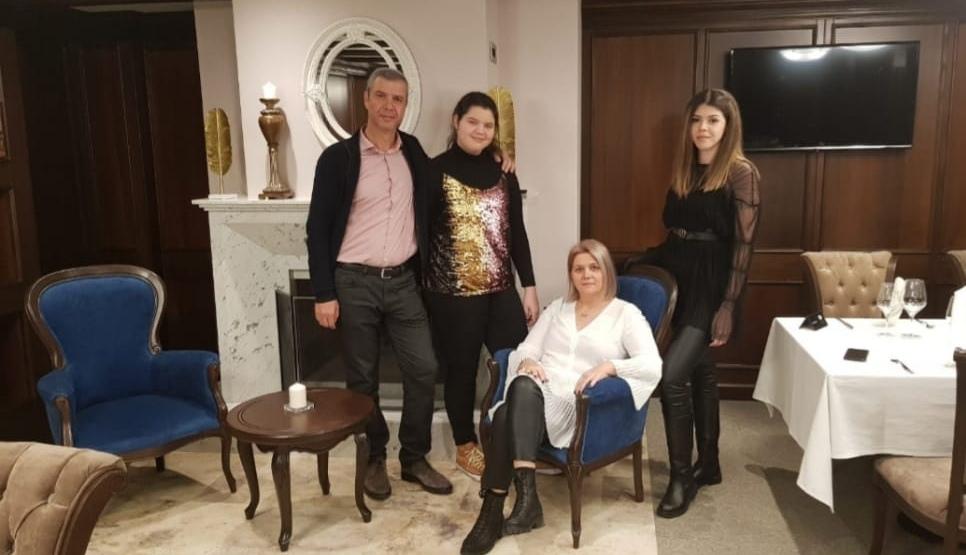 Petruta Gavan, Cristian Gavan si fiicele