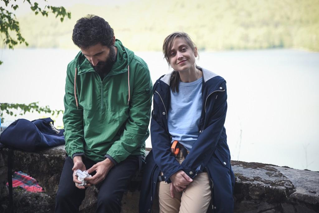 Irina Radulescu si Marin Grigore_filmari Vidraru