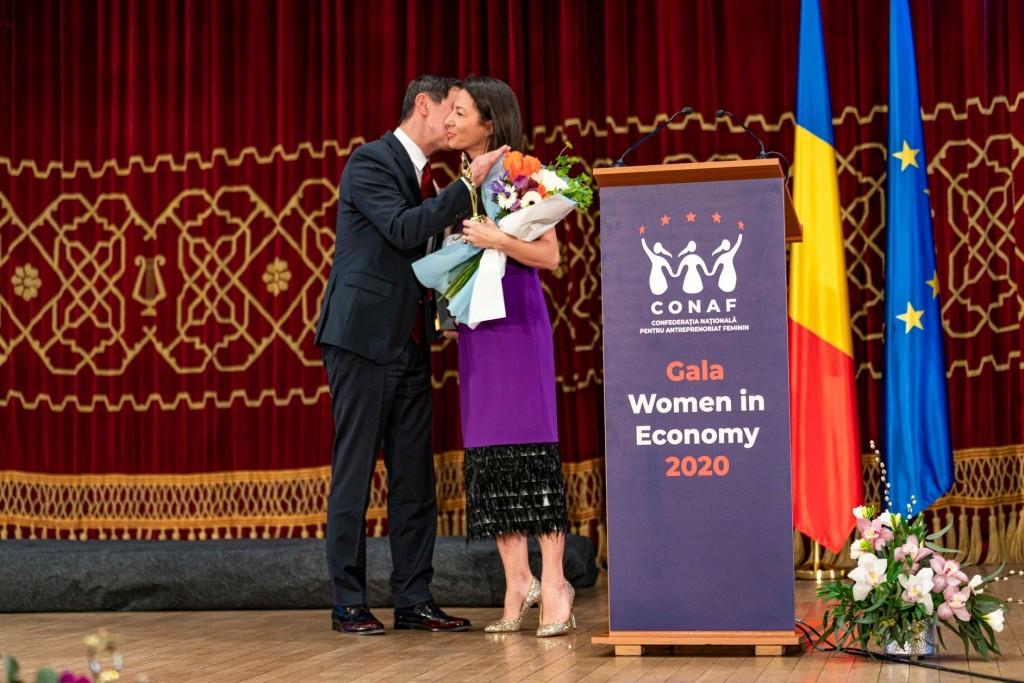 Mihai Leu & Mirela Bucovicean Gala Women in Economy 2020