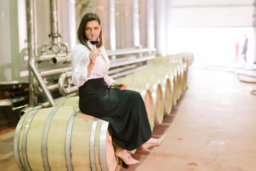 Marina Samoilă desprevin The Woman