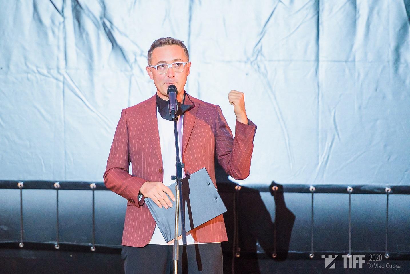 Tudor Giurgiu la Gala de deschidere TIFF 2020 - Foto Vlad Cupșa
