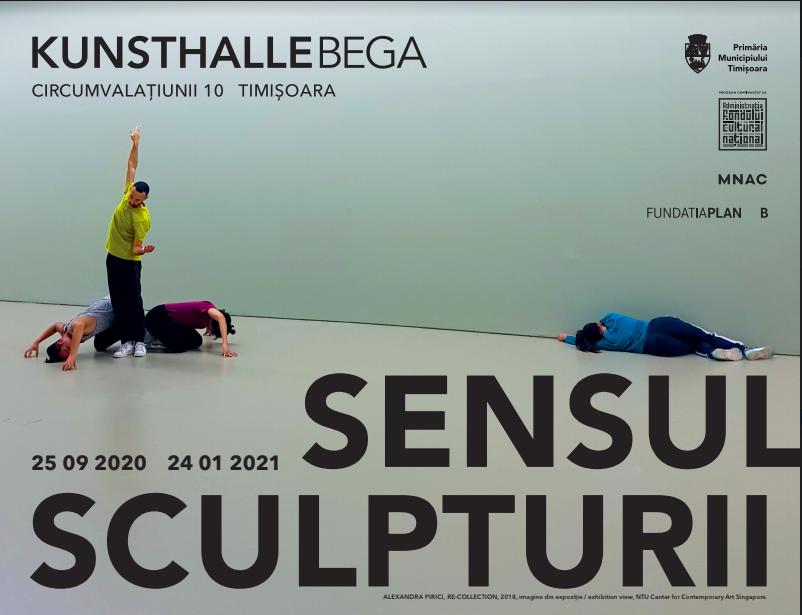Kunsthalle Bega prezintă: SENSUL SCULPTURII. Curator, Liviana Dan