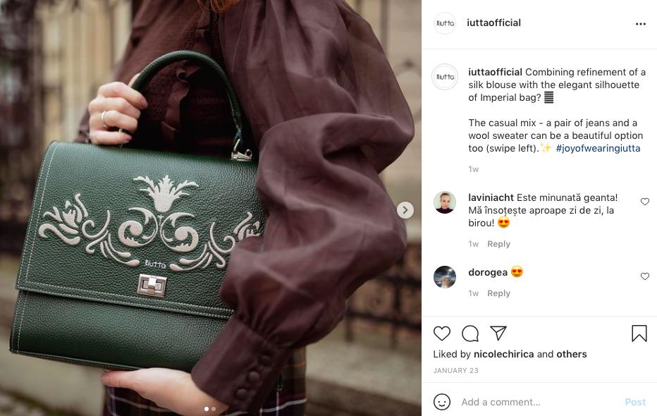 iutta the woman bag