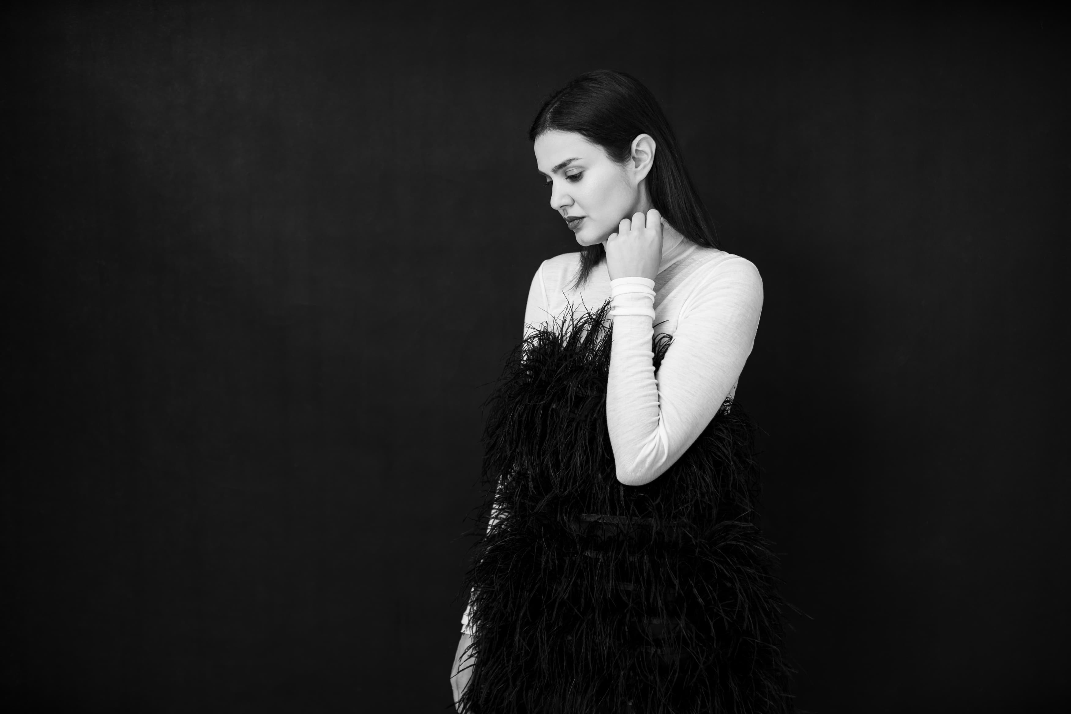 Mara Coman @Harper's Bazaar x The Woman 4