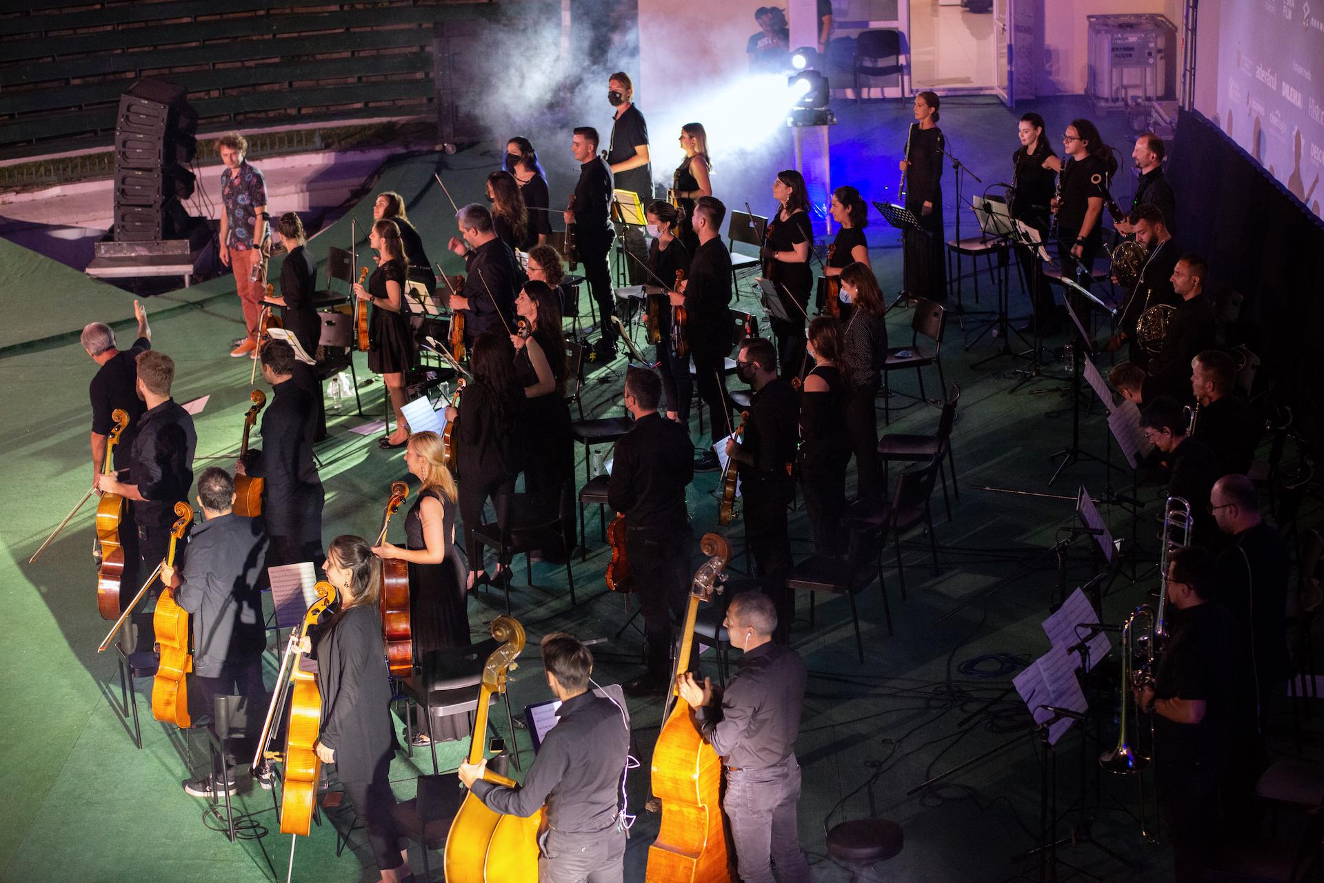 Bucharest Film Orchestra (photo by Șerban Pârvu)